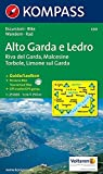 Alto Garda e Ledro: Riva del Garda, Malcesine, Torbole, Limone. Escursioni / Bike. Wandern / Rad. GPS-genau. 1:25.000 -
