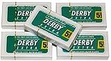 Rasierklingen - Derby Extra (0,10 mm) im 5 x 5er Pack