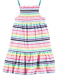 Carters Little Girls Jersey Smocked Dress (2T