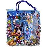 Majik Stationary Items Combo, Kids School Accessories, Pencil Box, Sharpener, Eraser, Birthday Return Gifts For Kids, 30 Gram, Pack Of 1 (Blue-Boy)