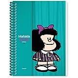 Granica GB23 - Agenda anillada Mafalda 2016, color turquesa