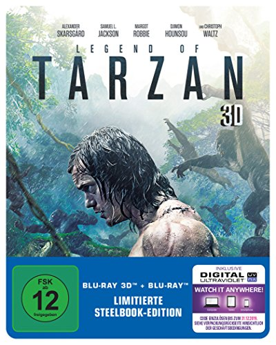 Legend of Tarzan - Steelbook inkl. Blu-ray [3D Blu-ray] (exklusiv bei Amazon.de) [Limited Edition]