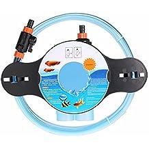 Anself - Limpiador de Grava Lavadora Sifón de Acuario Tanque de Peces (Para Cambio el Agua/Limpieza/Lleno el Sistema de Mantenimiento)