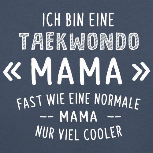 Ich bin eine Taekwondo Mama - Damen T-Shirt - 14 Farben Navy