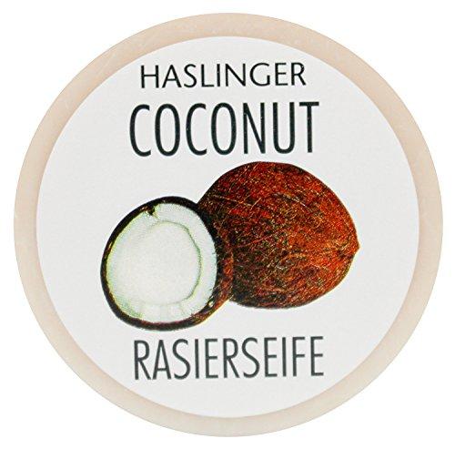 Preisvergleich Produktbild Haslinger Rasierseife Coconut - Kokos
