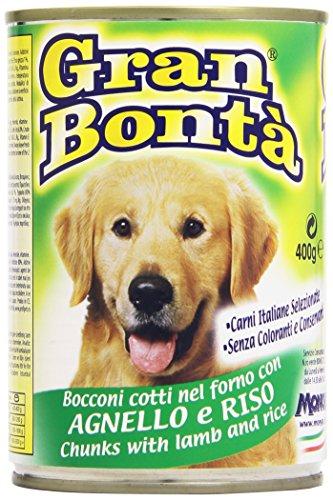 Gran bontã - alimento completo per cani, bocconi cotti nel forno con agnello e riso - 400 g