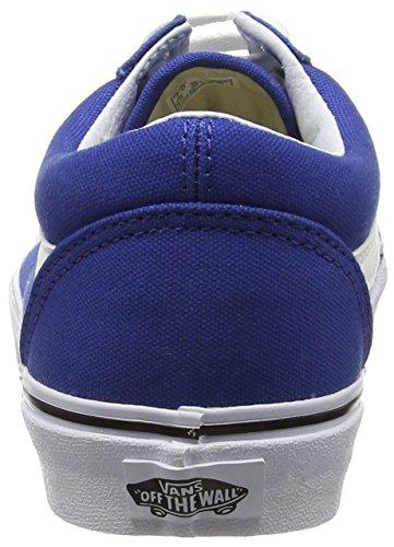 Vans Old Skool, Sneakers Basses mixte adulte Bleu (Canvas/True Blue)