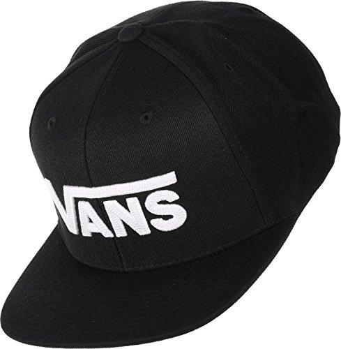 d52d74d52e2b Vans Herren Baseball Cap Drop V II Snapback, Schwarz (Black-White Y28)
