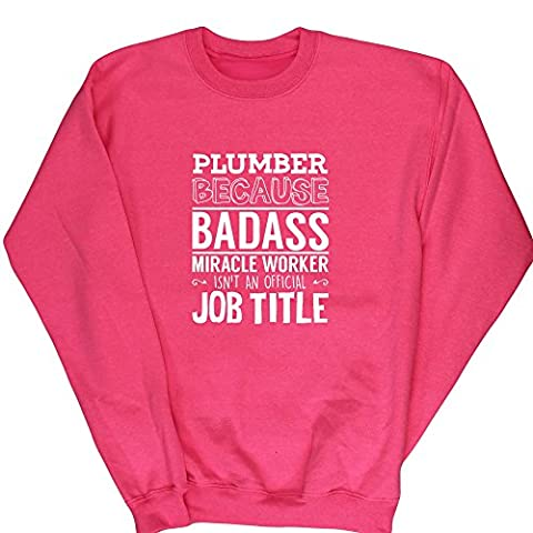 Hippowarehouse - Sweat-shirt - Fille - rose - 4 ans