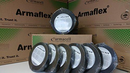Original Armaflex ACE selbstklebendes Klebeband Tape 15m x 50mm x 3mm Dämmung Isolierung Kautschuk Test