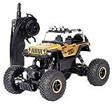 Fcostume Ferngesteuertes Auto RC High Speed Off-Road Monster Truck Kinder Geschenk 1:18 (Gold)