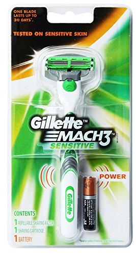 gillette-sensitive-mach3-power-mens-shaving-razor-1-razor-handle-1-cartridge-1-battery