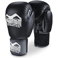 Phantom Herren Gloves-PHBG00575-S Athletics Boxing Gloves Ultra Training-Phbg00575-s (16oz), Black, S