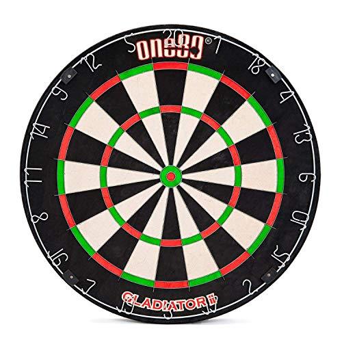 ONE80 Dartscheibe Dartboard Kork Bristle Offizielles Profi Turniermaß
