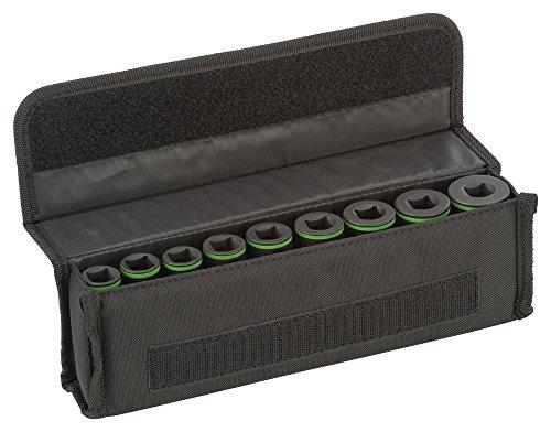 """Bosch ProfessionalPro 9tlg. Steckschlüsseleinsätze-Set mit 1/2\""""-Innenvierkantaufnahme für Sechskantschraubenn (Länge: 77 mm)"""