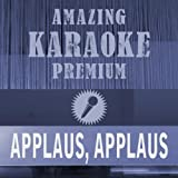 Applaus, Applaus (Single Version) [Premium Karaoke Version] (Originally Performed By Sportfreunde Stiller)