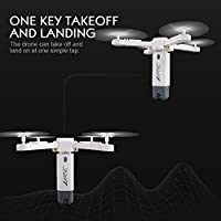 Jiayuane H51 Foldable Rocket FPV Drone With 720P 360°Panoramic Aerial Photography Camera,Quadcopter Drone for Outdoor Sports by Jiayuan