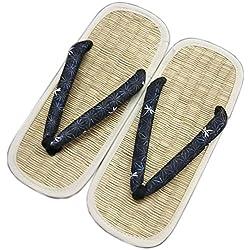 PC Hardware Store Zori Setta: Hombres Rausch (Tatami) Zapatos de Las Sandalias de diseño histórico Tradicional Tallas L 26,5 cm