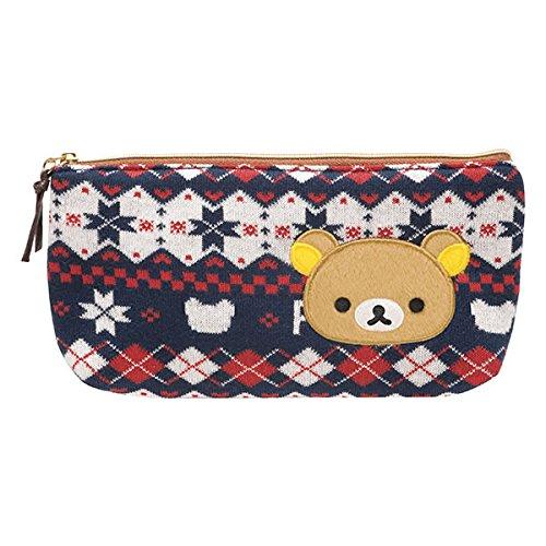 Argyle-tasche (Rilakkuma Pen Fall Tasche schottischen Argyle Knit Stil von san-x aus Japan)