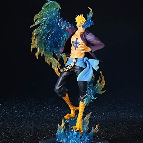 HYBKY Ein Stück Unsterblich Spielzeug Modell/Spielzeug Anime Statue Modell Spielzeug 30 cm Geburtstag Urlaub Geschenk Anime-Statue