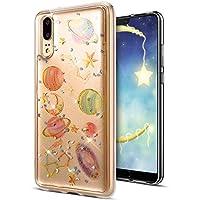 Huawei P20 Hülle,Huawei P20 Schutzhülle,Huawei P20 Silikon Handyhülle TPU Case,KunyFond Transparente Planet Muster... preisvergleich bei billige-tabletten.eu