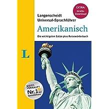 """Langenscheidt Universal-Sprachführer Amerikanisch - Buch inklusive E-Book zum Thema """"Essen & Trinken"""": Die wichtigsten Sätze plus Reisewörterbuch"""