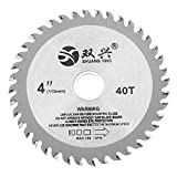 Effetool 4 Inch 40 Zähne EsportsMJJ Kreis Säge Blatt Acryl Kunststoff Holzbearbeitung Schneideklinge