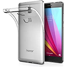 Funda Honor 5X, AICEK Huawei Honor 5X Funda Transparente Gel Silicona Honor 5X Premium Carcasa para Honor 5X