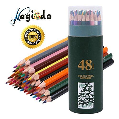 Magicdo® 48 Pcs Colored Pencil set for Adults, Artists, Kids ...