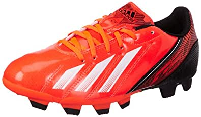 adidas Men's F5 TRX FG Red, Black and White Football Shoes - 6 UK
