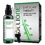 FolliOne DHT Kopfhaut-Therapie für Männer - bei Haarausfall und zurückgehenden Haaransatz, 60ml (1-Monatspackung)