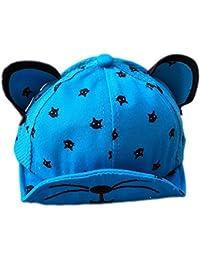 Leisial Gorra de Béisbol con Algodón Sombrero del Gatito Sombrero de Sol  Gorra de Visera de 299b67c7f5e