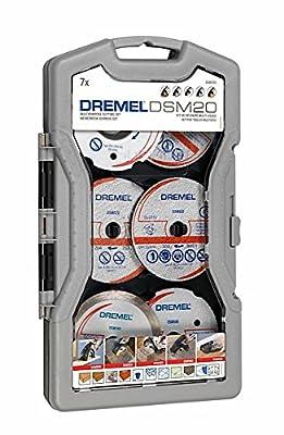 Dremel DSM705 Mehrzweck-Schneidset 7-teilig, 2615S705JA