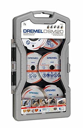 Preisvergleich Produktbild Dremel DSM705 Mehrzweck-Schneidset 7-teilig, 2615S705JA