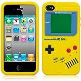 Housse silicone Apple iPhone 4 par Terrapin - Jaune