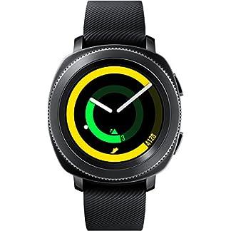 Samsung Gear Sport Reloj Inteligente Negro SAMOLED 3,05 cm (1.2″) GPS (satélite) – Relojes Inteligentes (3,05 cm (1.2″), SAMOLED, Pantalla táctil, GPS (satélite), 67 g, Negro)