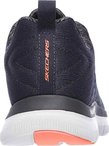 Skechers Herren Flex Advantage 2.0-the Happs Sneaker Blau (Dark Navy)
