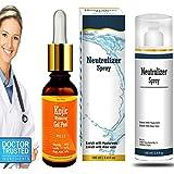 cosmoderm® Kojic Acid 10% Glycolic 15% Lactic acid 20% combo Gel peel treats Acne, Scars, Sun Damage and Fine Lines