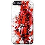 iPhone 5/5s Deadpool Fankunst Silikonhülle / Gel Hülle für Apple iPhone 5s 5 SE / Schirm-Schutz und Tuch / iCHOOSE / Rot