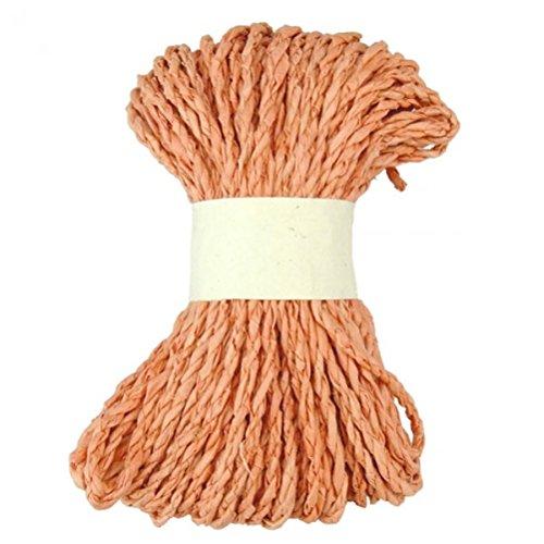 Geschenkband aus Loktafasern - orange - 20m - Fair Trade