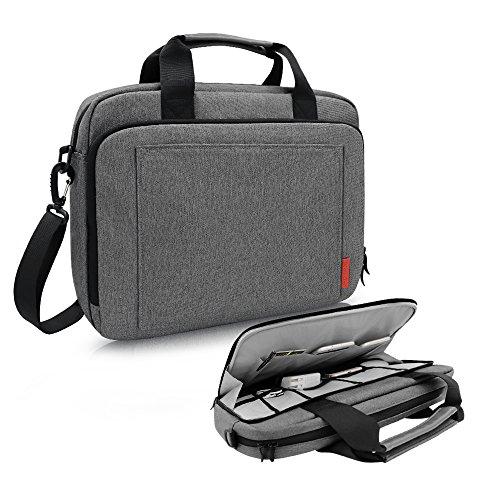 iCozzier 13,3-14 Zoll Laptoptasche mit Handgriff und Schultergurt Sowie Schutzhülle Botetasche mit Elektronik Zubehör Lagerung für Ultrabook/Notebook/MacBook -