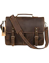 Amazon.co.uk: Leather - Men's / Handbags & Shoulder Bags: Shoes & Bags