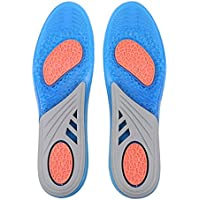 SUPVOX 1 Paar Schuhauflagen Weiche Silikon Gel Einlegesohlen Stoßdämpfende Einsätze Atmungsaktive Laufschuheinsätze... preisvergleich bei billige-tabletten.eu