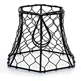 Metal Chickenwire Hexagon Lampshade 5.75x4- by Darice