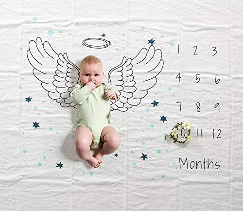 Manta mensual de hitos para bebés