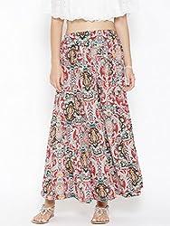 Sera Women Red Skirt Palazzo