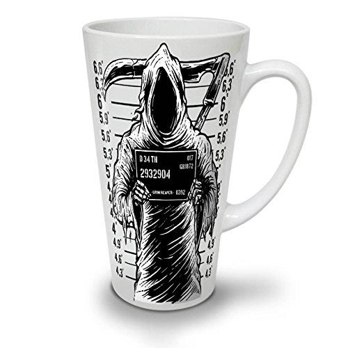 Grimmig Schnitter Gefängnis Horror WeißTee KaffeKeramik Kaffeebecher 17 | Wellcoda