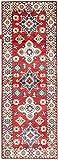 Nain Trading Kazak 182x65 Orientteppich Teppich Läufer Beige/Rot Handgeknüpft Afghanistan