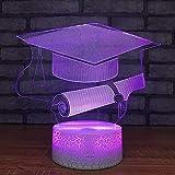 Best Man Bachelor Hats - Bachelor Hat Small Night Lights USB Graduation Gift Review