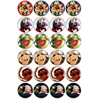 24 Muppets Cupcake Toppers